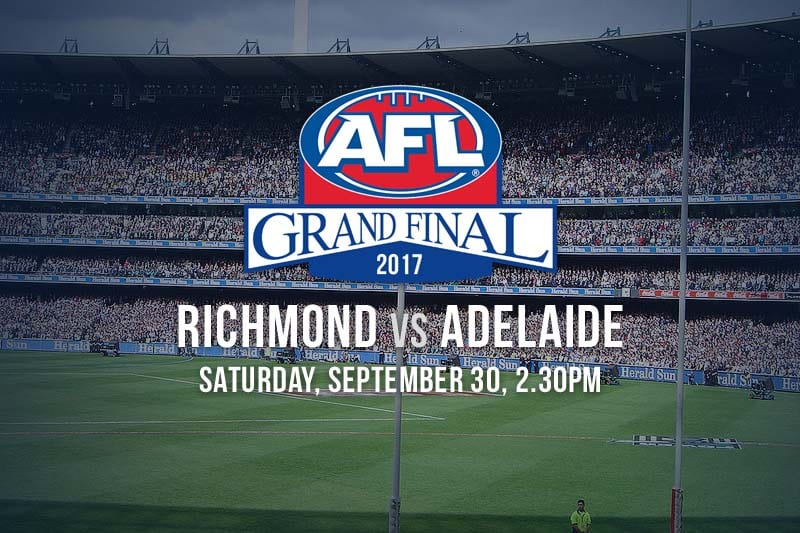 AFL Adelaide Richmond Grand Final 2017 betting tips