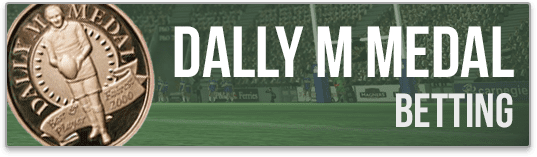 dally m medal betting