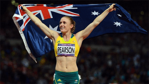 Sally Pearson betting