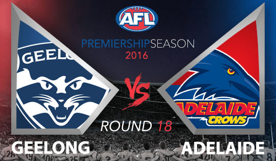 AFL 2016 Geelong vs. Adelaide