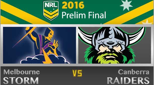 NRL Prelim 2016
