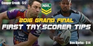 NRL Grand Final try scorers