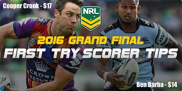 NRL Grand Final try scorers