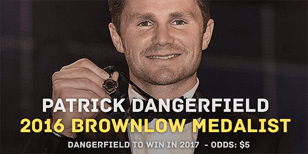 Brownlow 2016 Dangerfield