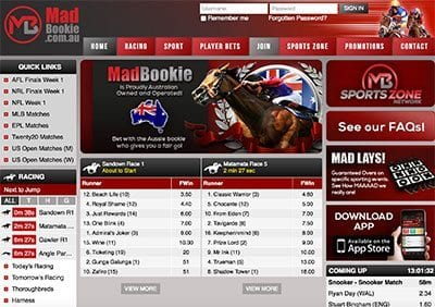 Madbookie all new Australian-focused bookmaker