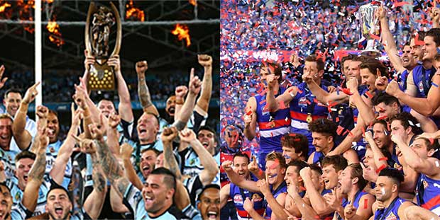 AFL and NRL Grand Final