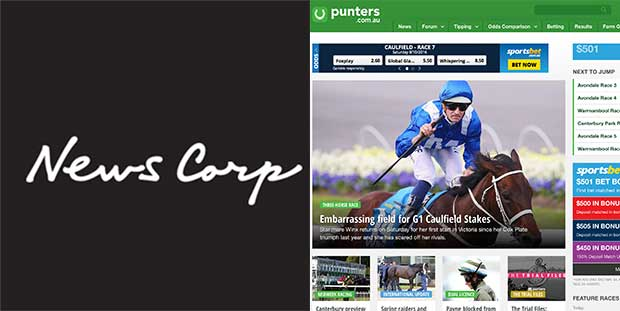 News Corp buys Punters