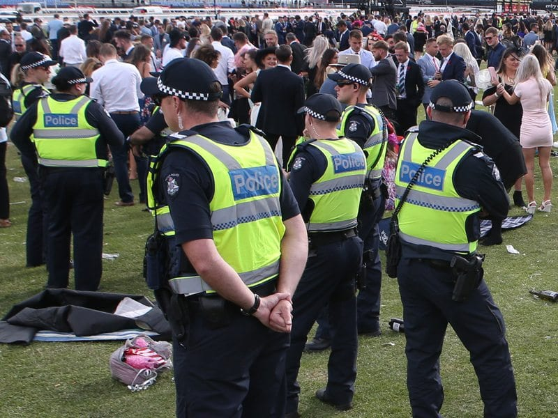 Melbourne Cup Arrests