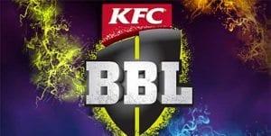 Big Bash League 2016 betting