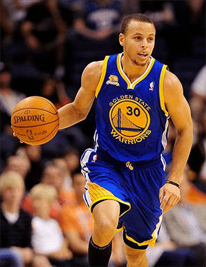 NBA star Steph Curry