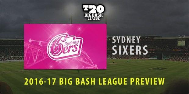 BBL Sydney Sixers