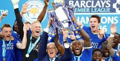 Leicester City win EPL