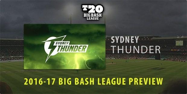 Sydney Thunder BBL