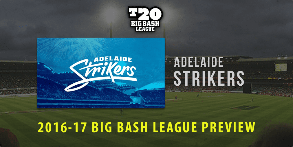 Adelaide Strikers BBL 2016-17