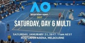 Australian Open Saturday multi