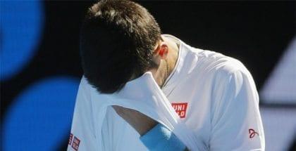 Djokovic loses