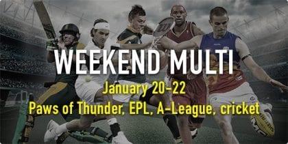 January 20-22 weekend multi
