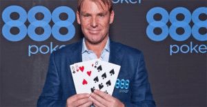 Shane Warne 888 Poker