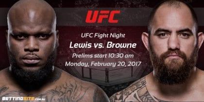 Derrick Lewis vs. Travis Browne