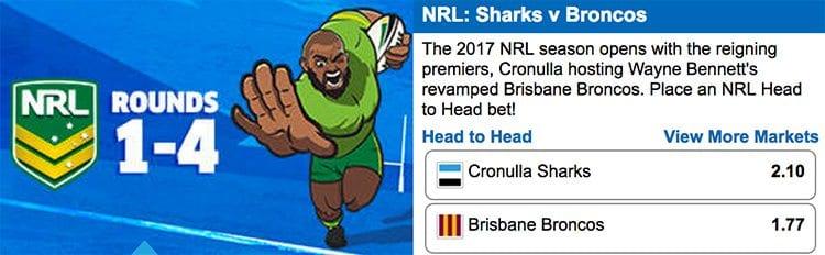 Sportsbet NRL bonus