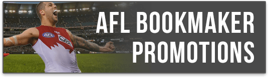 afl bookmaker promotions