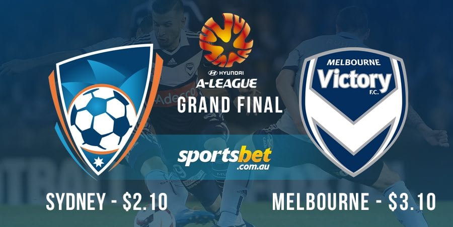 A League grand final - Melbourne v Sydney