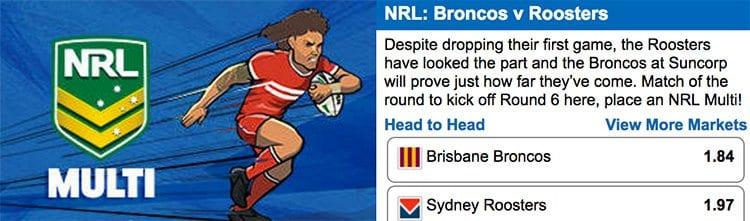 NRL Sportsbet Round 6