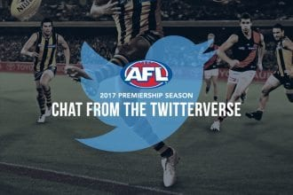 AFL Twitter chat for Australia