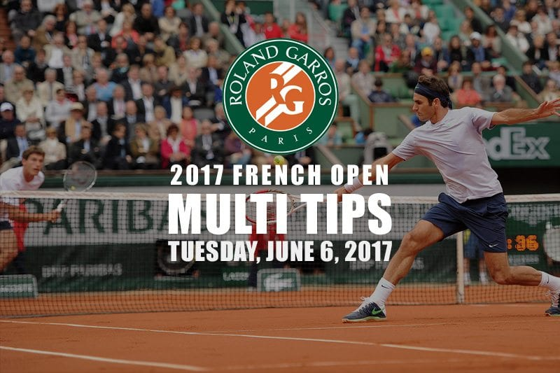 French Open Tuesday multi