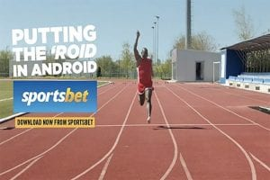 Sportsbet forced to pull Android betting app ad