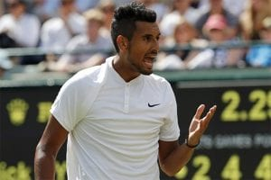 Nick Kyrgios is back in action at the ATP Cup