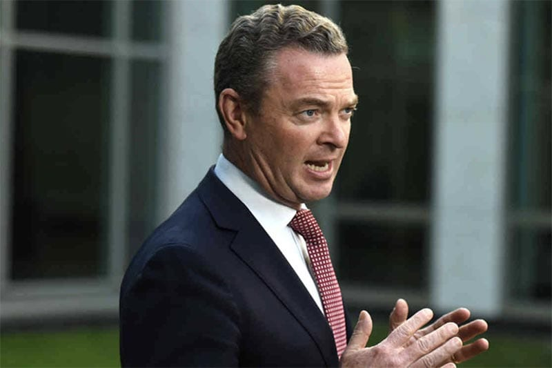 Federal minister Christopher Pyne
