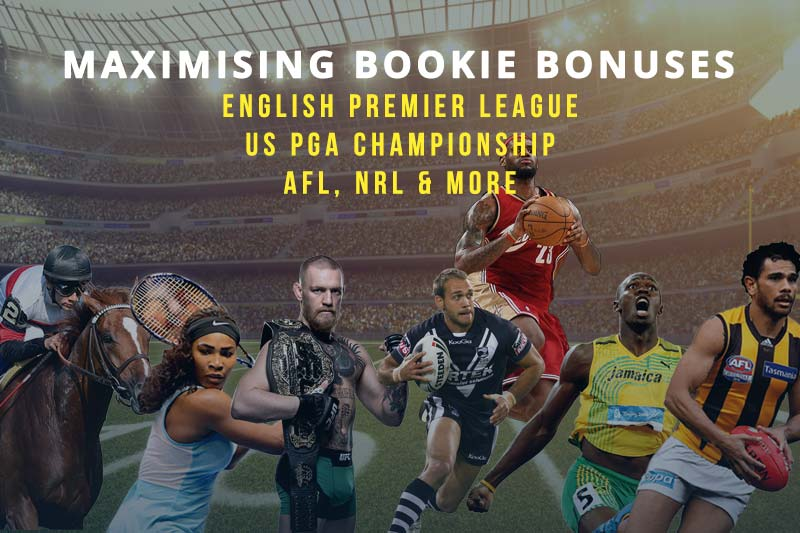 Bet specials for Premier League, PGA Championship, AFL, NRL