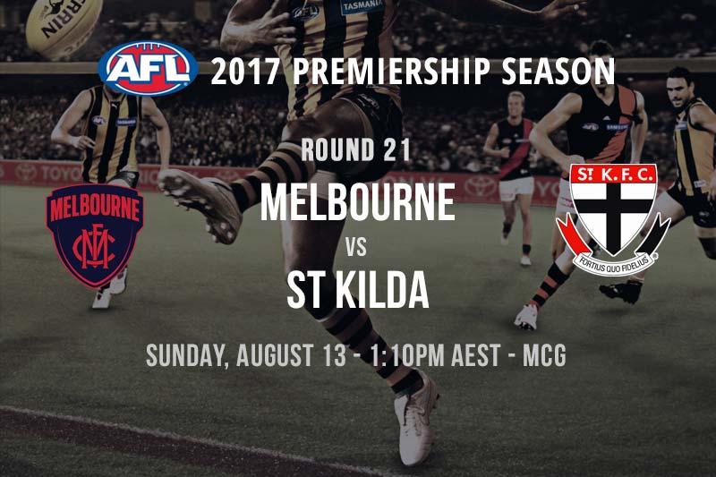 Demons vs. Saints - Round 21, AFL 2017