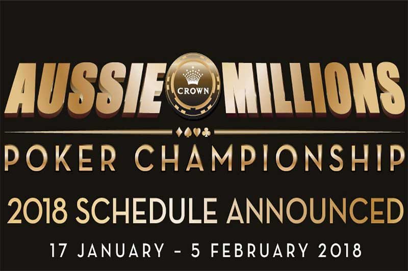 Uk poker tournament schedule 2018