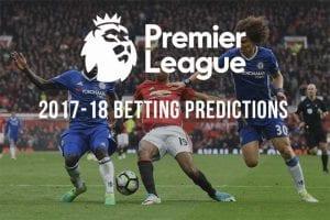English Premier League 2017-18 futures