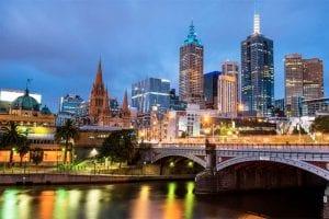 Melbourne, capital of Victoria