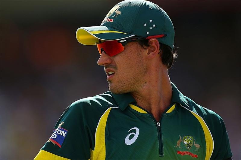 Australian cricket star Mitch Starc
