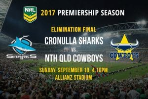 Sharks vs Cowboys