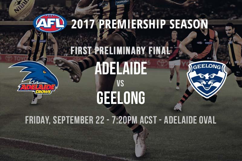 AFL Finals 2017 odds and specials