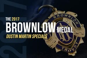 2017 Brownlow Medal betting