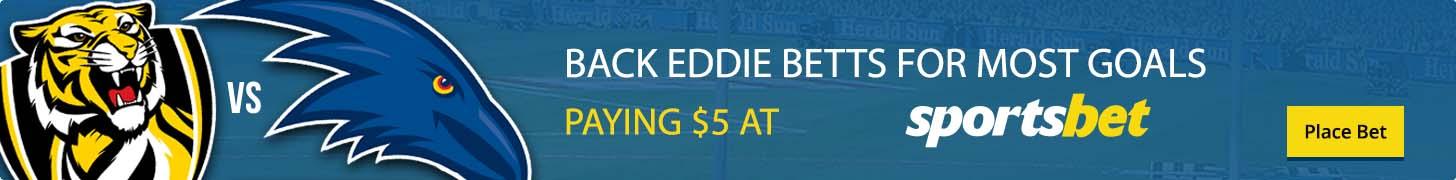 Eddie Betts most goals AFL Grand Final 2017