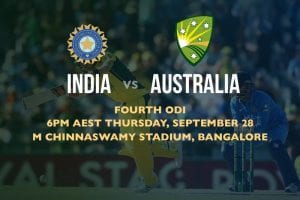 IND vs. AUS online cricket betting