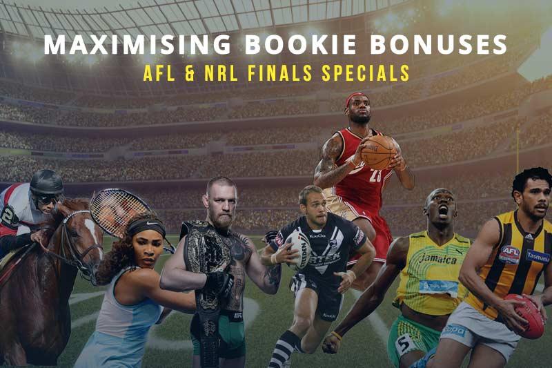 2017 AFL & NRL finals betting specials