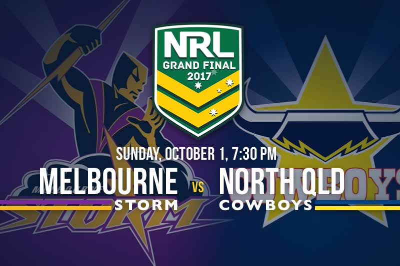 The  Nrl Season Has Come Down To Two Teams With The Melbourne Storm Taking On The North Queensland Cowboys This Sunday Night