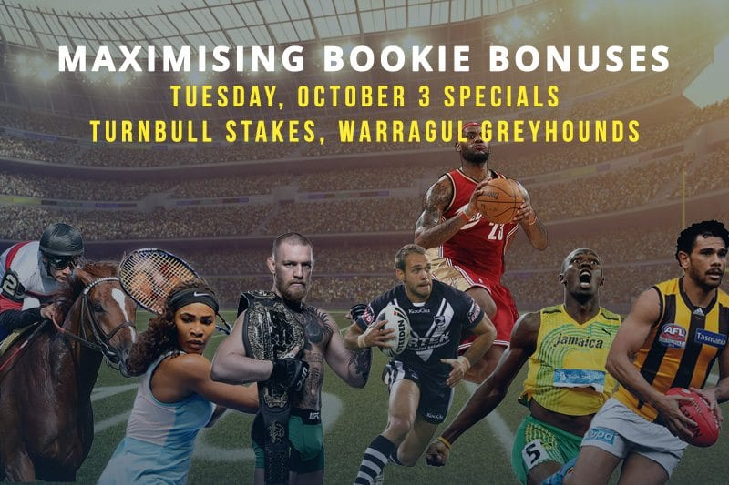 Sportsbet Turnbull Stakes special