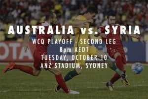 Socceroos 2018 World Cup qualifying