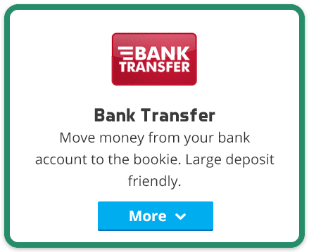 online bank transfer deposit
