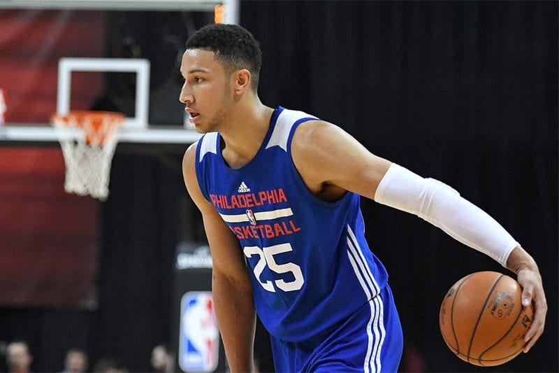 Philadelphia 76ers NBA star Ben Simmons