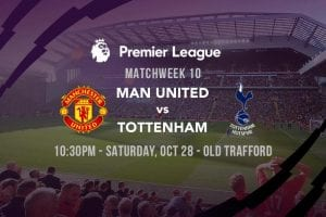 United Spurs EPL 2017/18 betting